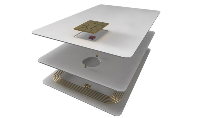 RFID contactless card