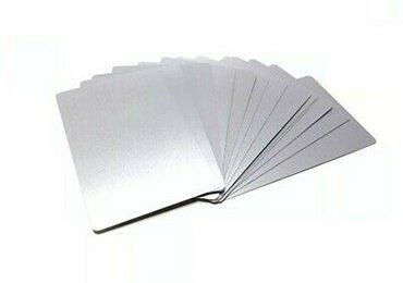 Blank Metal Cards