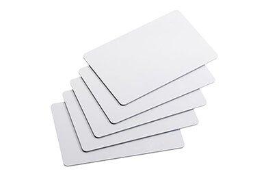 Blank Plastic Membership Cards