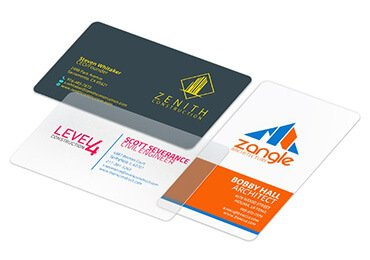 Photo Plastic Business Cards