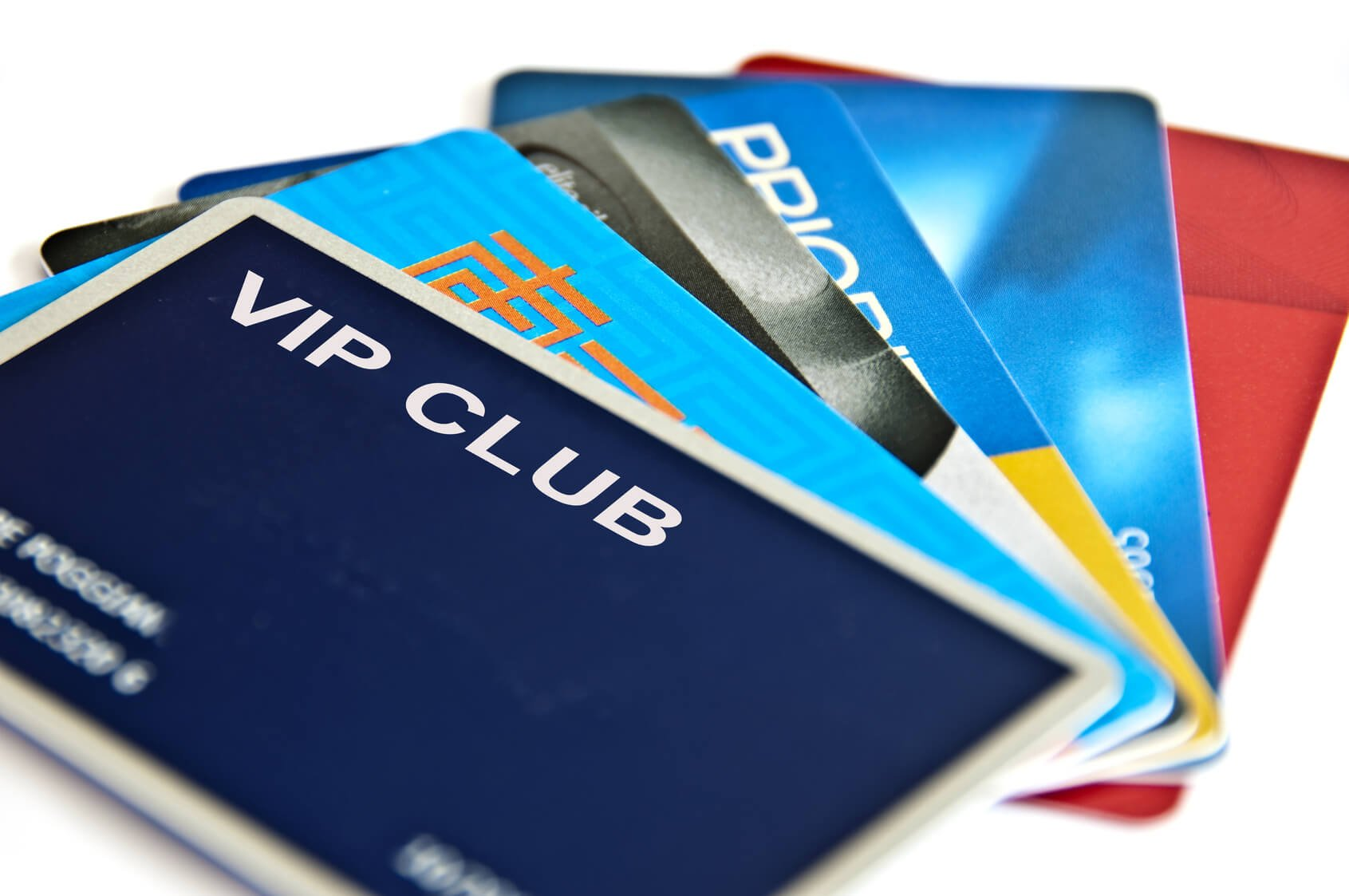 Types of plastic cards