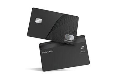 metal contact card