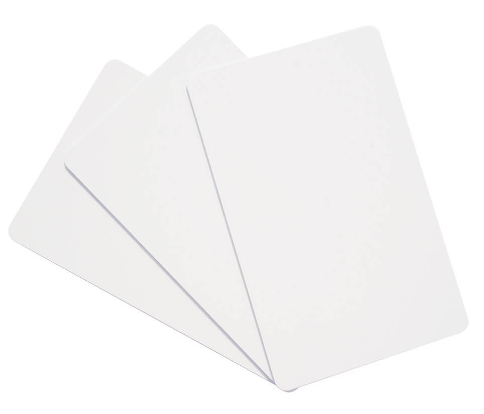 Raw material of the blank smart cards