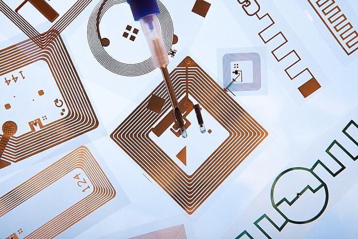Microchip of RFID readers