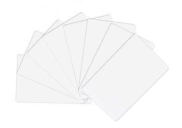 Blank PVC ID cards