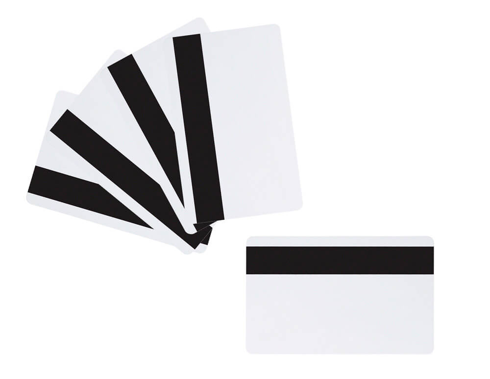 Blank magnetic pvc cards