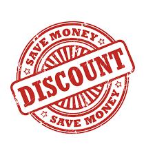 Discount in bulk