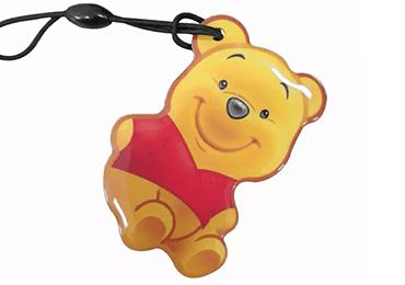 Epoxy bear RFID Keyfobs