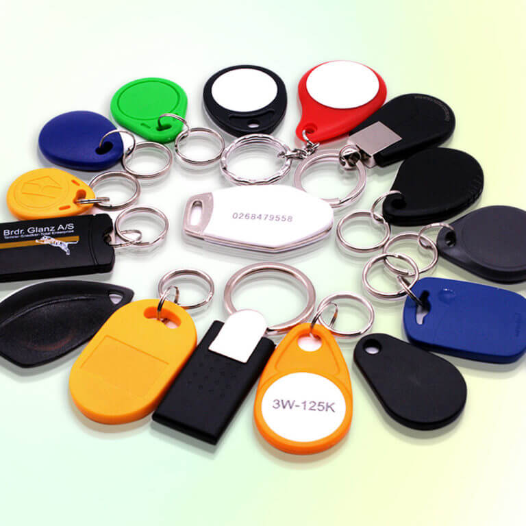 Materials In Making RFID Key Fobs