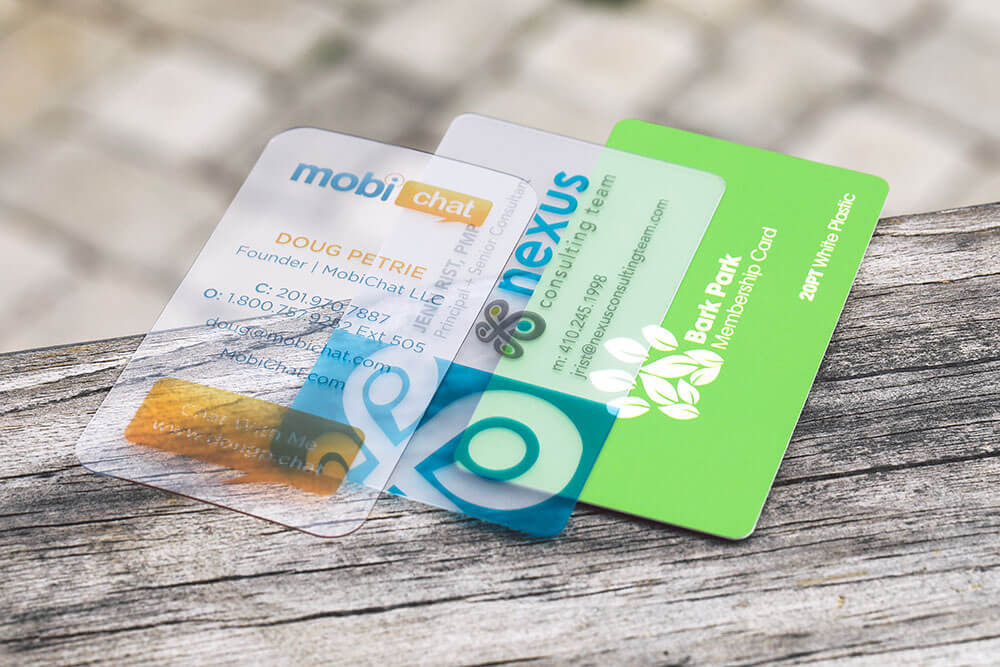 Color Restrictions For Plastic Business Cards Designs