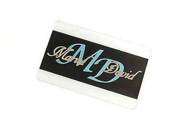 Hot Stamping Plastic Gift Cards