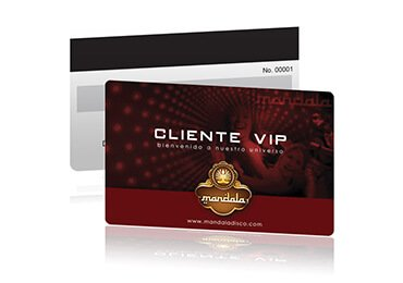 Magnetic Plastic Gift Card