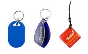 MoreRFID smart key fobs sample