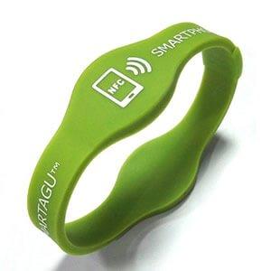 NFC wristband samples