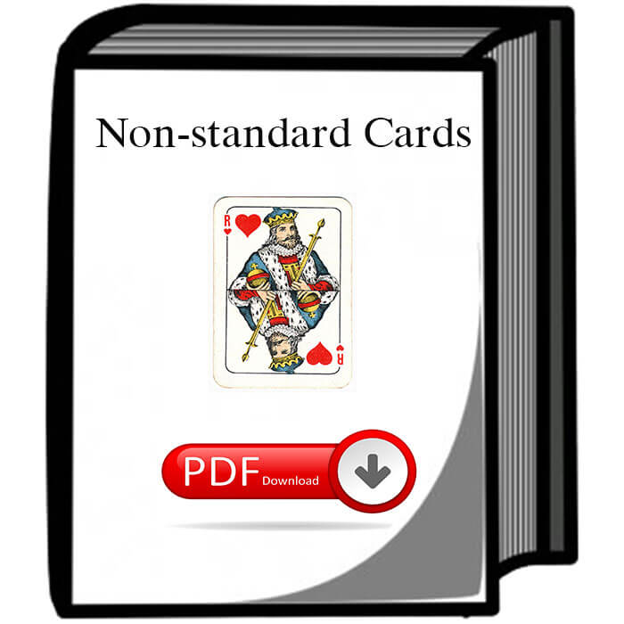 Non-standard cards download