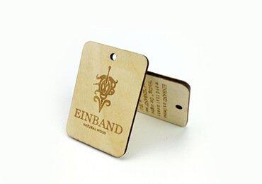 RFID Wood luggage tag