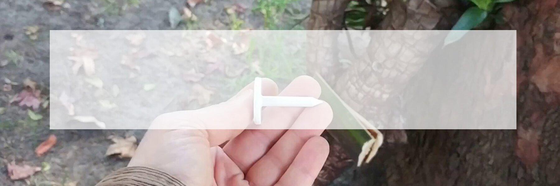 RFID nail tag banner