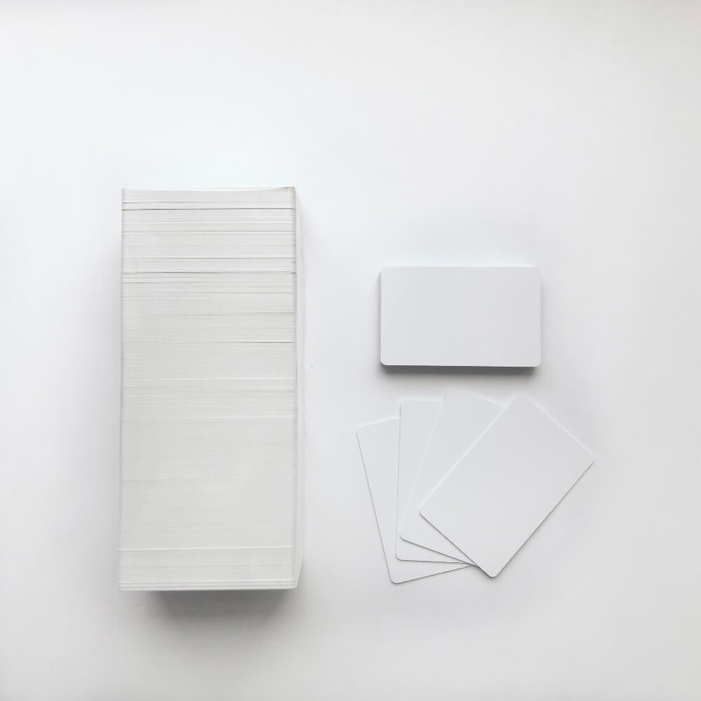 Thickness Are Blank PVC Cards