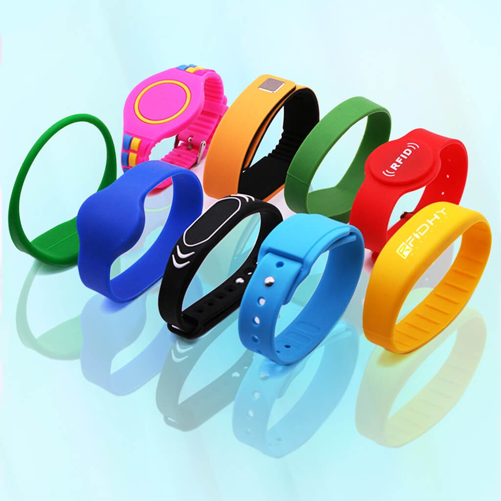 Varieties Of RFID Silicone Wristbands