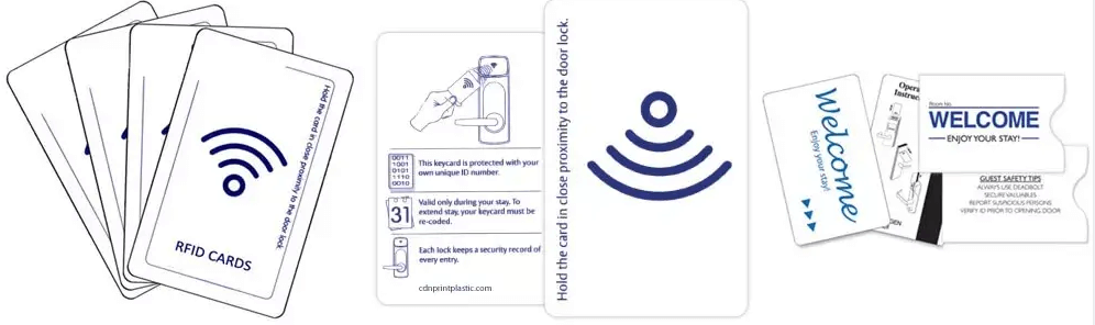 constitution of a hotel key card