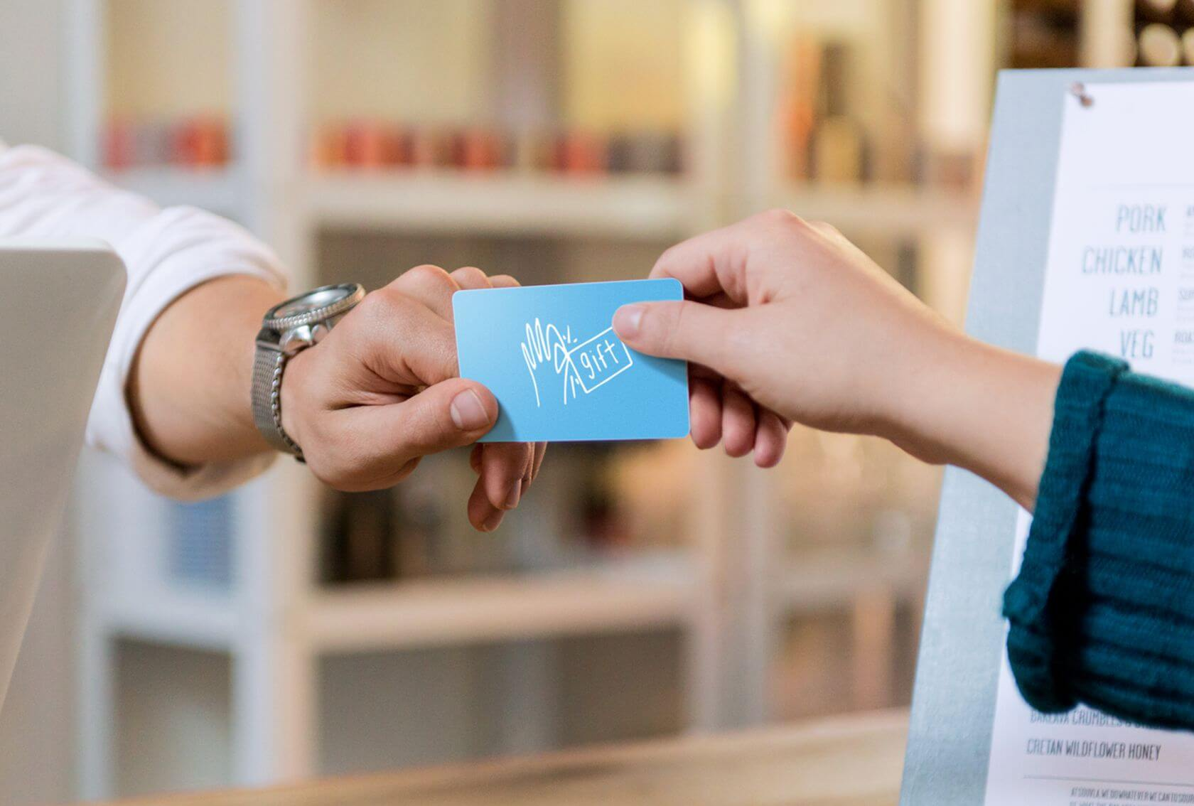 how does Plastic Gift Card Reader Work
