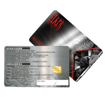 how to choose chip for plastic membership cards