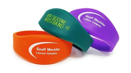 safe RFID Silicone Wristbands