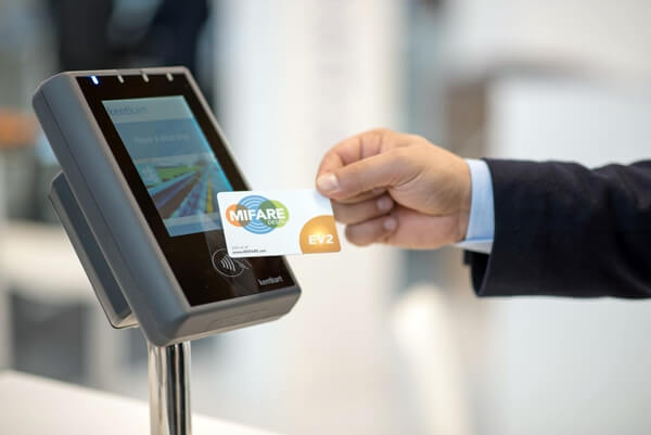 Mifare cards using